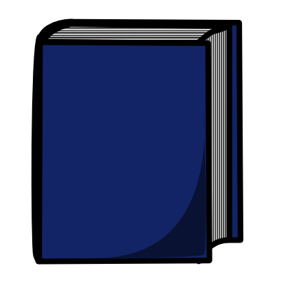 Download free blue book icon