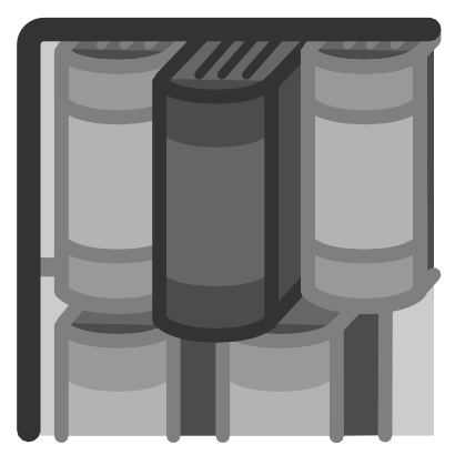 Download free grey book library icon
