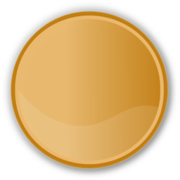 Download free round circle brown icon