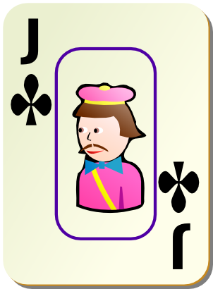 Download free game card clubs jack icon