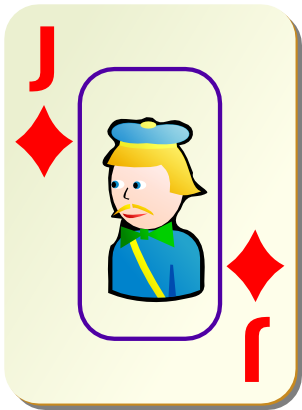 Download free game card tile jack icon