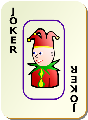 Download free game card joker icon