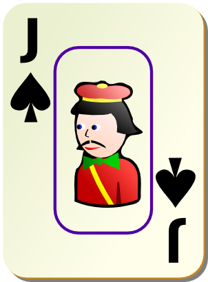 Download free game card peak jack icon