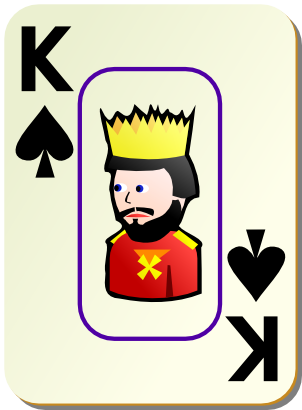 Download free game card peak king icon