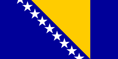 Download free flag bosnia and herzegovina country icon