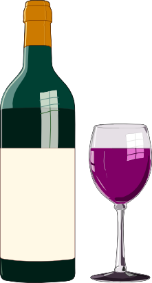 Download free food drink glass liquid bottle wine icon