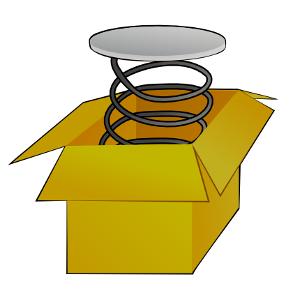 Download free box carton spring icon