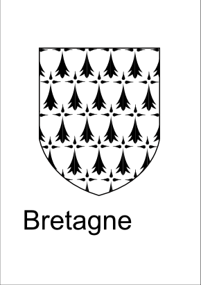 Download free brittany coat of arms icon