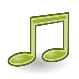 Download free music audio note icon