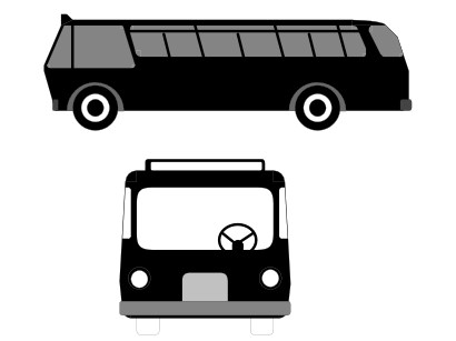 Download free bus motorbus steering wheel icon