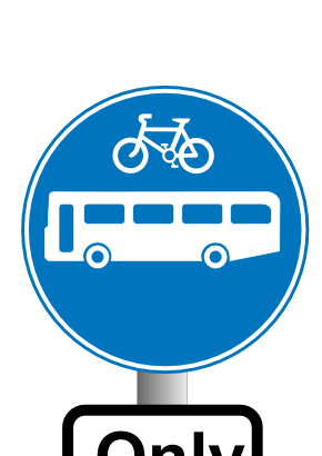 Download free round bike bus motorbus panel icon