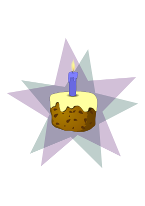 Download free food cake candle icon