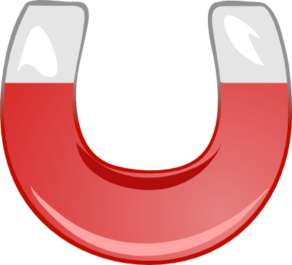 Download free red magnet icon