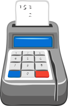 Download free calculator ticket icon