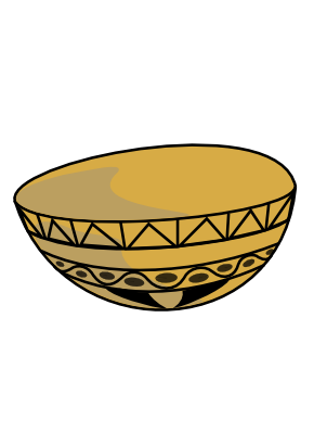 Download free pot brown calabash icon