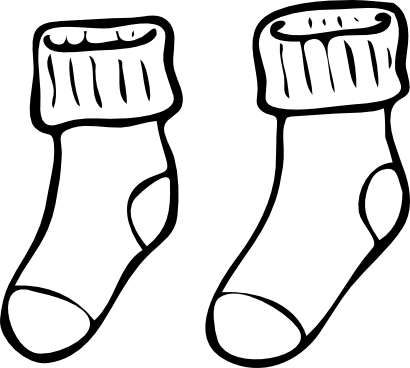 Download free clothing sock icon
