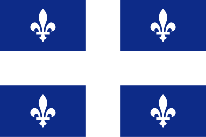 Download free flag canada quebec icon