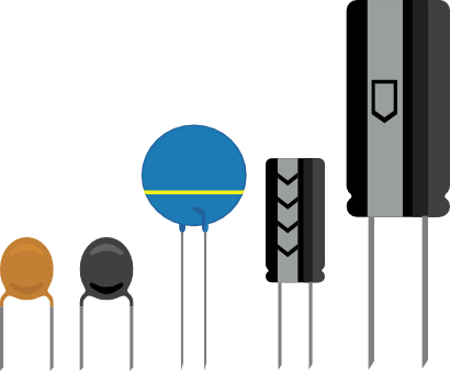 Download free electricity capacitor icon