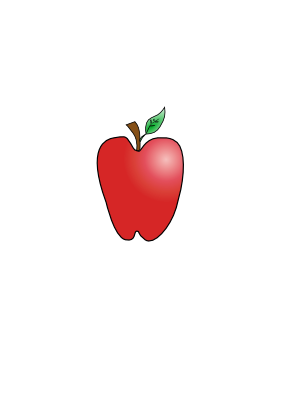 Download free apple food fruit icon