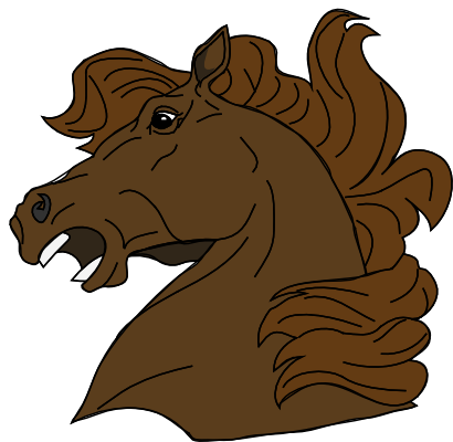 Download free head animal brown horse icon