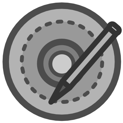 Download free pencil disk cd dvd icon
