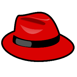 Download free system red linux distribution operation redhat hat icon