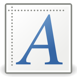 Download free font letter icon