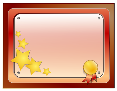 Download free certificate star icon