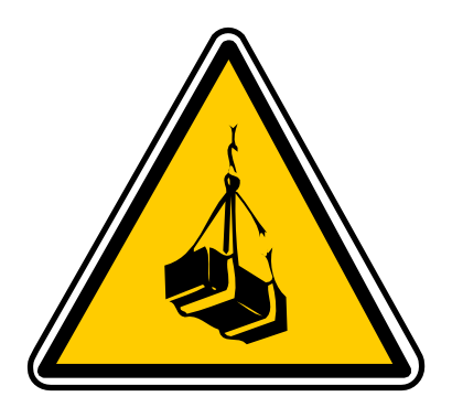 Download free triangle attention load icon
