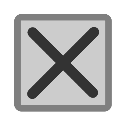 Download free grey cross icon