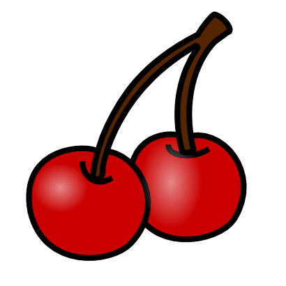 Download free food cherry fruit icon