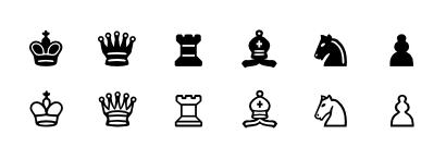 Download free game chess icon