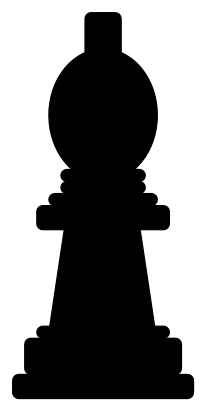 Download free game chess bishop icon