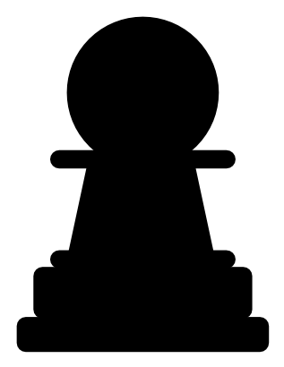Download free game chess pawn icon