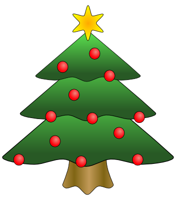 Download free green tree star billiard ball christmas fir icon