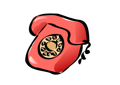 Download free red phone icon