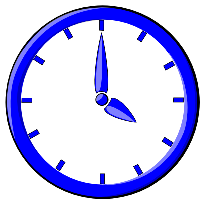 Download free clock hour icon