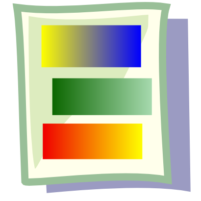 Download free sheet color icon