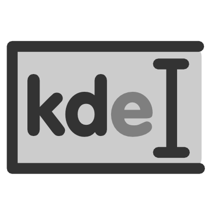 Download free grey cursor rectangle kde icon