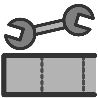 Download free key grey tool icon