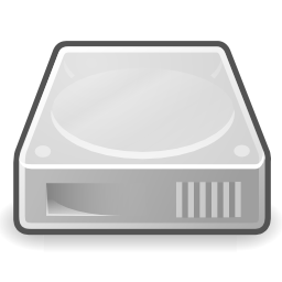 Download free grey disk hard storage icon