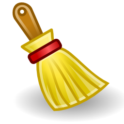 Download free yellow broom icon