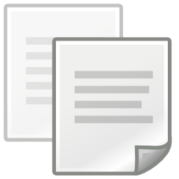 Download free sheet copy copy icon