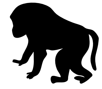 Download free animal monkey icon