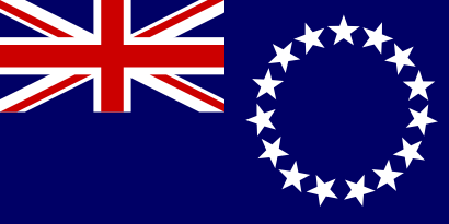Download free flag cook islands country icon