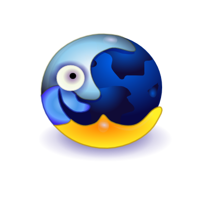 Download free earth moon icon