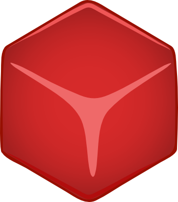 Download free red cube icon