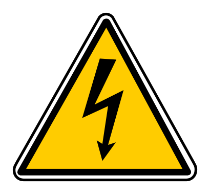 Download free triangle electricity panel danger icon