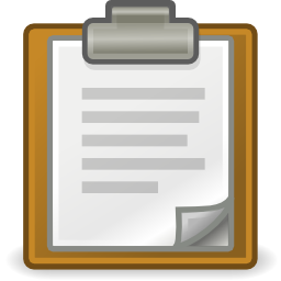 Download free sheet paste icon