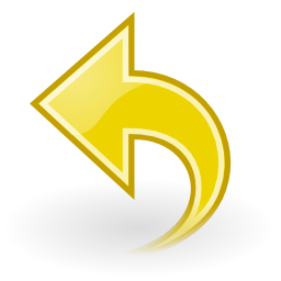 Download free yellow arrow left icon